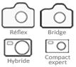 Cliquez ici pour voir la liste de tous les appareils photo acceptés aux cours PhotoProf.