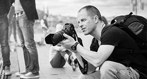 Cours de photographie noir et blanc.