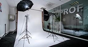 Cours de photographie en studio.